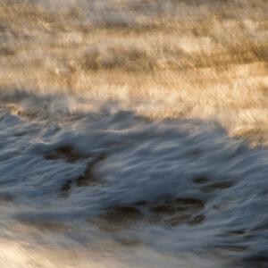 Marianne dams - landscape - waves