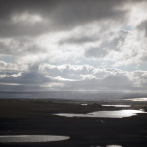 Marianne dams - landscape - iceland clouds