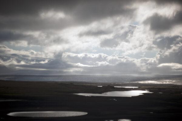 Marianne dams - landscape - iceland clouds