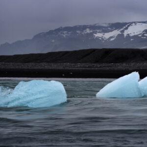 Marianne dams - landscape - iceland ice rock