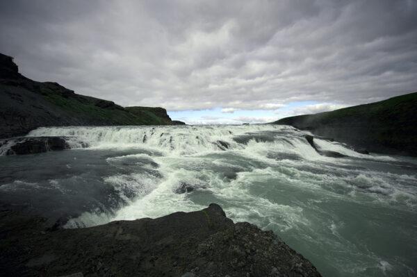 Marianne dams - landscape - water iceland